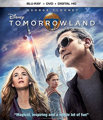 Tomorrowland Clooney Roberston Laurie Blu Ray DVD Pg