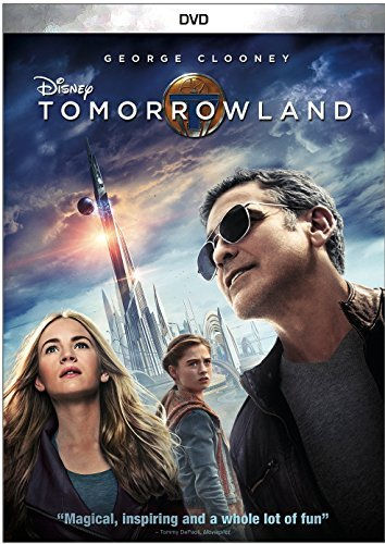 Tomorrowland Clooney Roberston Laurie DVD Pg