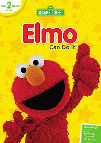Sesame Street Elmo Can Do It DVD