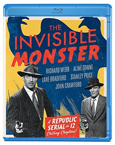 Invisible Monster Webb Towne Blu Ray Nr
