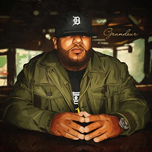 Apollo Brown Grandeur (green W Black Splatter Vinyl) 2 Lp