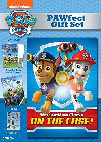Paw Patrol Marshall And Chase On The Case DVD Gift Set Edition
