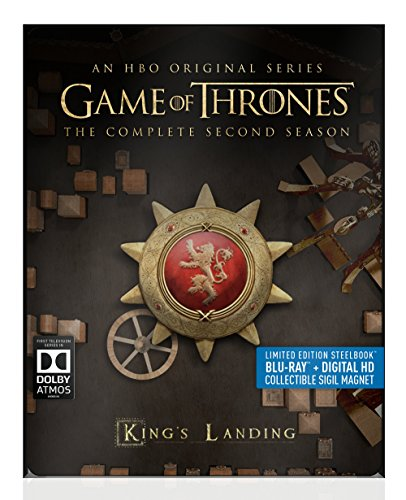 Game Of Thrones Season 2 Blu Ray Dc Steelbook