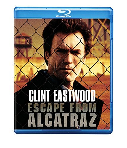 Escape From Alcatraz Eastwood Mcgoohan Blu Ray Pg