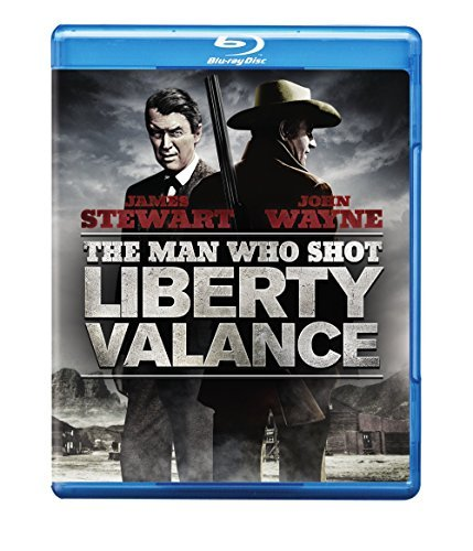 Man Who Shot Liberty Valance Stewart Wayne Blu Ray Nr