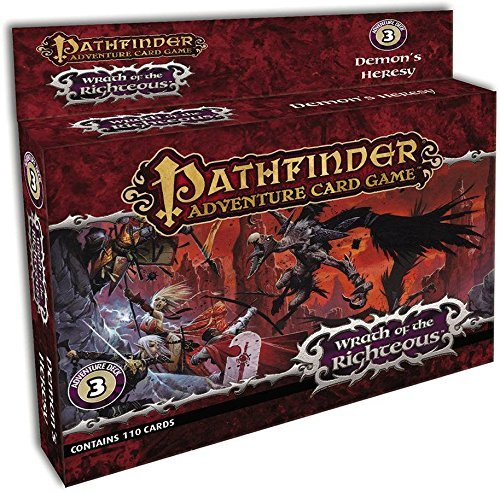 Mike Selinker Pathfinder Adventure Card Game Wrath Of The Righteous Adventure Deck 3 Demon's