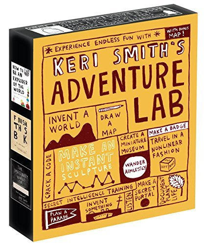 Keri Smith Keri Smith's Adventure Lab A Boxed Set Of How To Be An Explorer Of The World