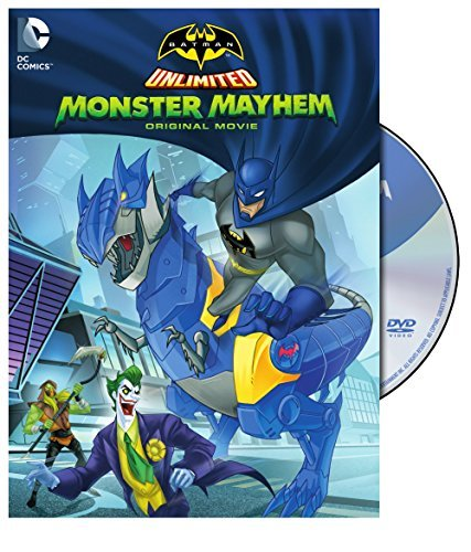 Batman Unlimited Monster Mayhem DVD