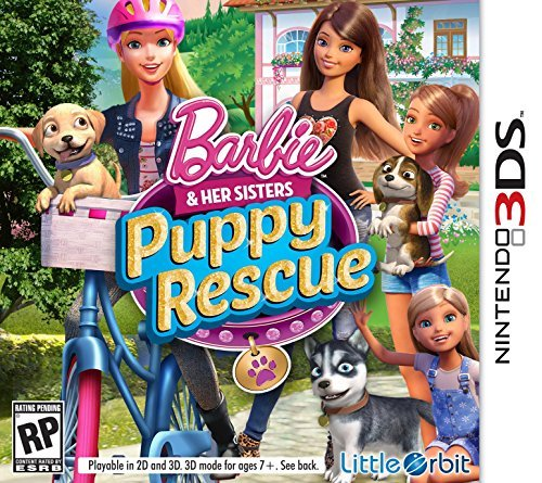 Nintendo 3ds Barbie And Her Sisters Puppy Rescue