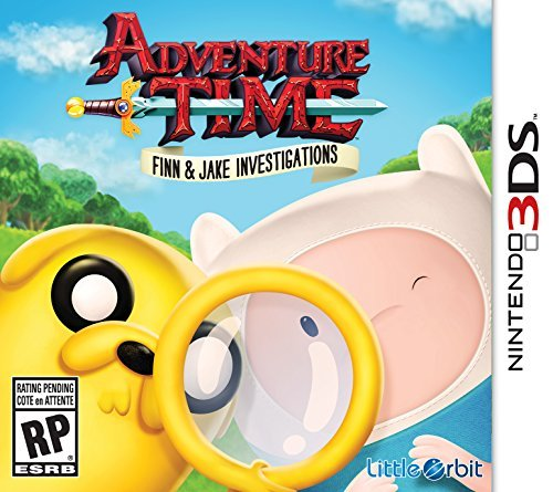 Nintendo 3ds Adventure Time Finn And Jake Investigations Adventure Time Finn And Jake Investigations