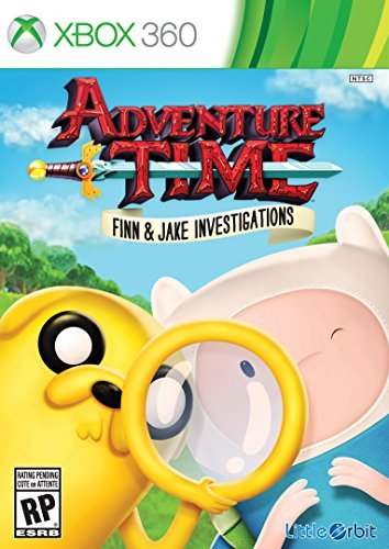 Xbox 360 Adventure Time Finn And Jake Investigations Adventure Time Finn And Jake Investigations