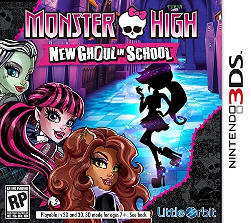 Nintendo 3ds Monster High New Ghoul In School Monster High New Ghoul In School
