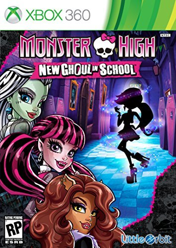 Xbox 360 Monster High New Ghoul In School Monster High New Ghoul In School