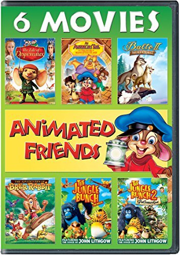 Animated Friends 6 Movie Collection DVD G