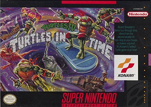 Super Nintendo Teenage Mutant Ninja Turtles Iv Turtles In Time