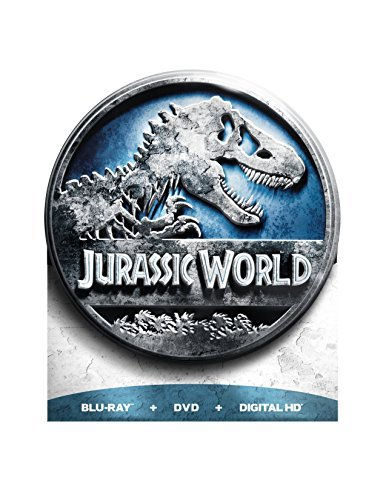 Jurassic World Pratt Howard Blu Ray DVD Dc Pg13 Limited Edition Packaging