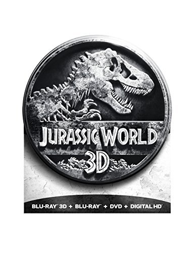 Jurassic World Pratt Howard 3d Blu Ray DVD Dc Pg13 Limited Edition Packaging