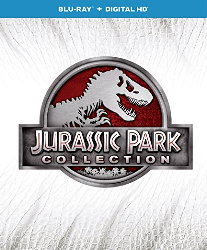Jurassic Park (with Jurassic World) Collection Blu Ray Dc 4 Movie Pack