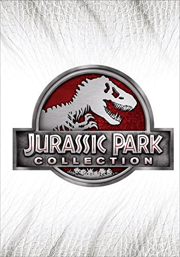 Jurassic Park (with Jurassic World) Collection DVD 4 Movie Pack