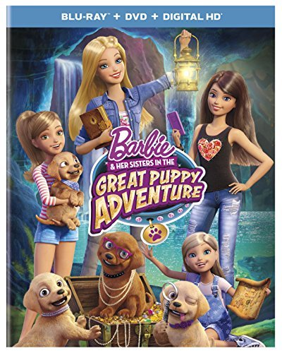 Barbie & Her Sisters Great Puppy Adventure Blu Ray