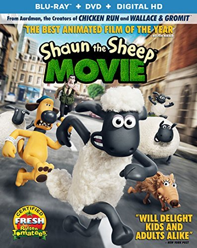 Shaun The Sheep Movie Shaun The Sheep Movie Blu Ray DVD Dc Pg