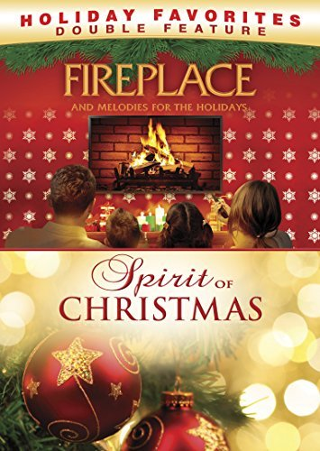 Fireplace & Melodies For The Holidays Double Feature DVD