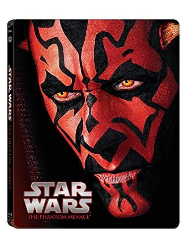 Star Wars Episode I The Phantom Menace Blu Ray Pg Steelbook