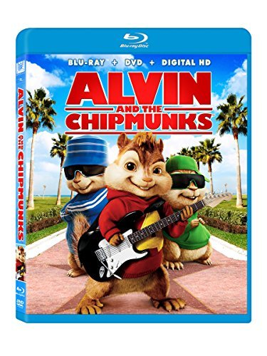 Alvin & The Chipmunks Alvin & The Chipmunks Blu Ray DVD Dc Pg