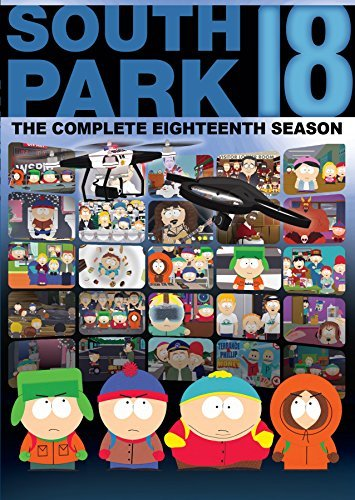 South Park The Complete Eighteenth Season South Park The Complete Eighteenth Season DVD