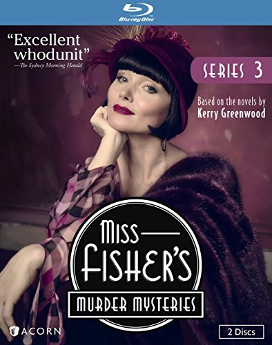 Miss Fisher's Murder Mysteries Series 3 Blu Ray Nr