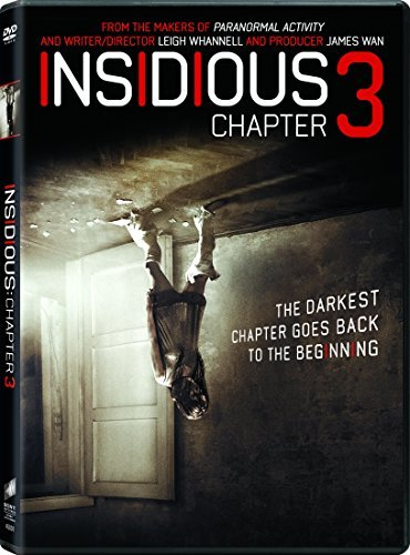 Insidious Chapter 3 Mulroney Scott DVD Dc Pg13