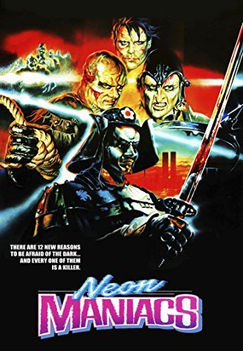 Neon Maniacs Hayes Sarelle DVD R