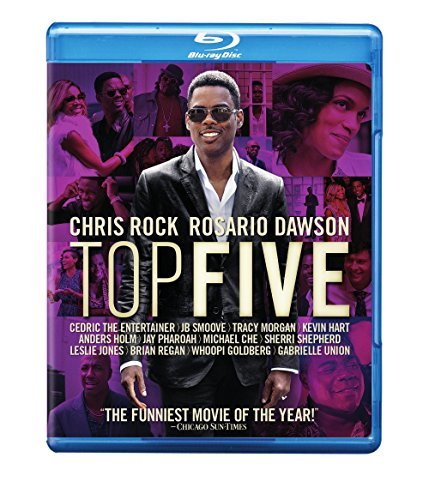 Top Five Rock Dawson Blu Ray R