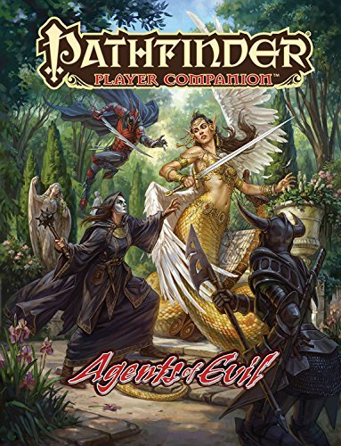 Paizo Staff Pathfinder Player Companion Agents Of Evil