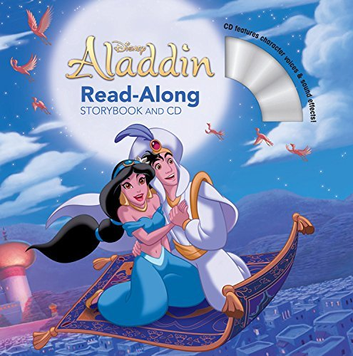 Disney Book Group Aladdin Read Along Storybook And CD