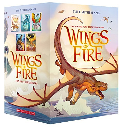 Tui T. Sutherland Wings Of Fire Boxset Books 1 5 (wings Of Fire)