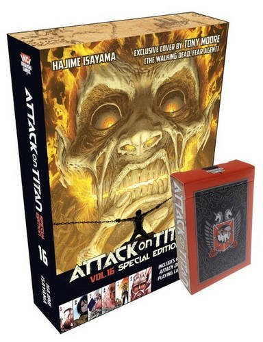 Hajime Isayama Attack On Titan 16 [with Cards] Special