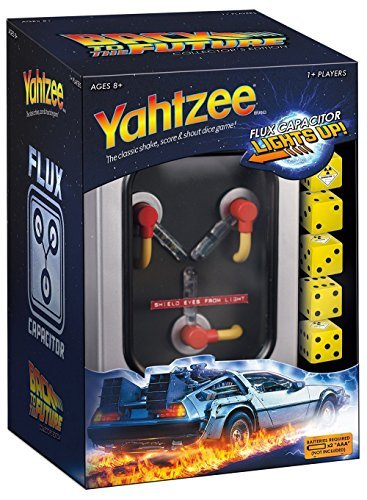 Usaopoly Yahtzee Back To The Future Collector's Edition