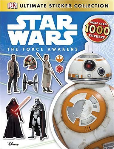 Dk Publishing Ultimate Sticker Collection Star Wars The Force Awakens