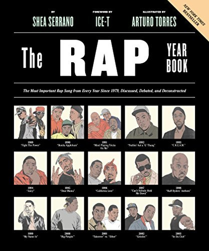 Shea Serrano The Rap Year Book The Most Important Rap Song From Every Year Since 1979 Discussed Debated And Deconstructed