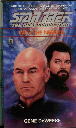 Gene Deweese Into The Nebula Star Trek The Next Generation #36