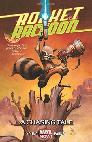 Skottie Young Rocket Raccon Volume 1 A Chasing Tale
