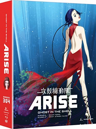 Ghost In The Shell Arise Borders 3 & 4 Blu Ray Nr