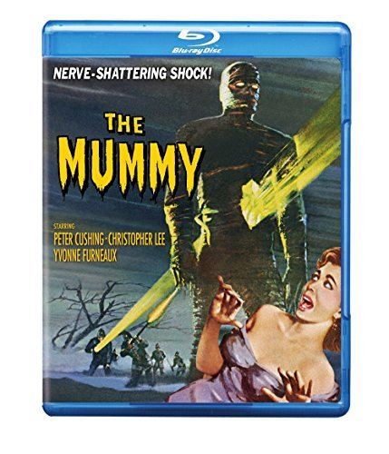 Mummy (1959) Cushing Lee Furneaux Byrne Blu Ray Nr