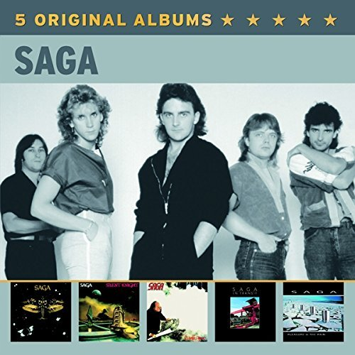 Saga 5 Original Albums Import Nld Box Set