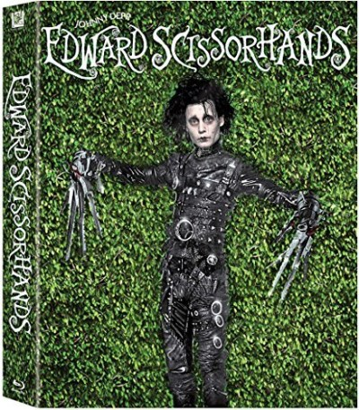 Edward Scissorhands Depp Ryder Blu Ray Dc Pg13 Ultimate Collector's Edition