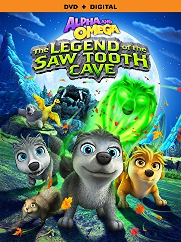 Alpha & Omega Legend Of The Saw Tooth Cave DVD