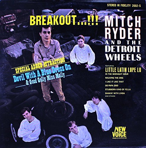 Mitch Ryder Breakout (& Detroit) Import Jpn