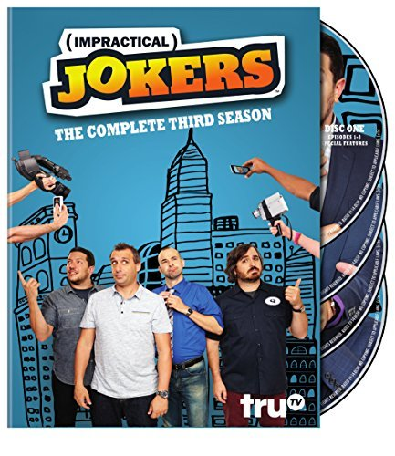Impractical Jokers Season 3 DVD Season 3