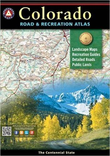 National Geographic Maps Colorado Benchmark Road & Recreation Atlas 0005 Edition;